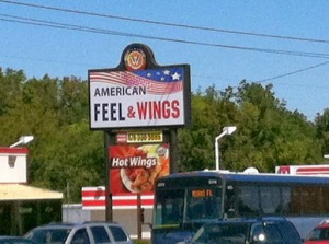american feel and wings, macon, ga
