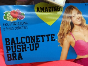 Balconette Push-up bra