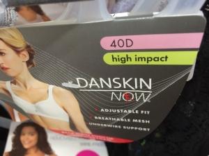 Danskin High Impact bra